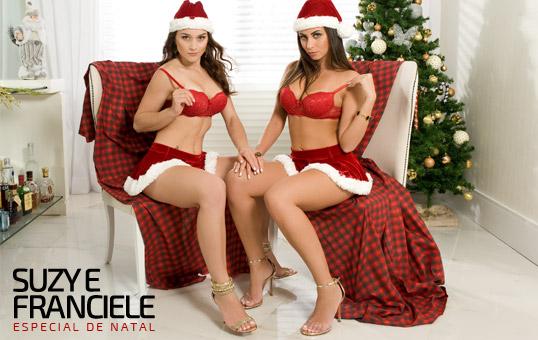 baixar Bella da Semana - Franciele Christ e Suzy Kviatkoski - 202 Fotos + Vídeo (Especial de Natal) download