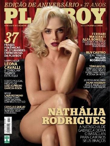 baixar Nathália Rodrigues - Revista Playboy - Agosto 2012 - Completa download