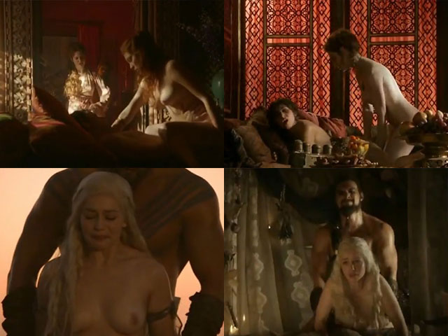 Todas as cenas de sexo e estupro da série Game of Thrones