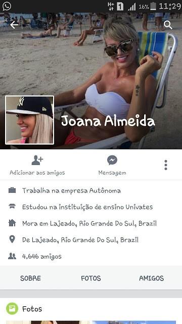 baixar Joana Almeida, crente vadiando na net   Caiu na net download