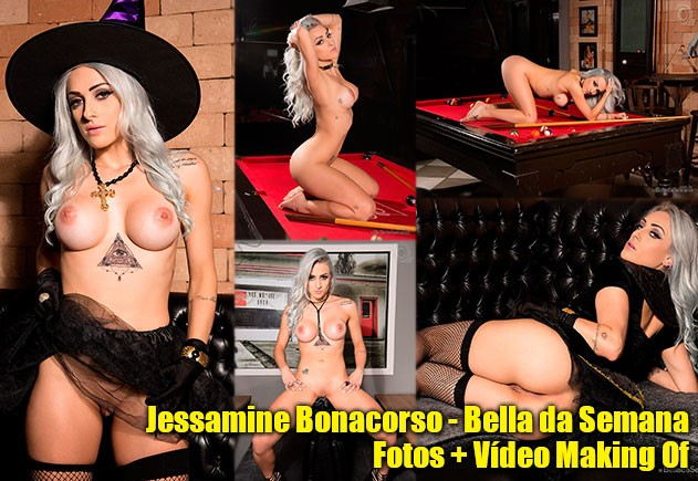 Jessamine Bonacorso pelada no Bella da Semana (fotos e vídeo) download