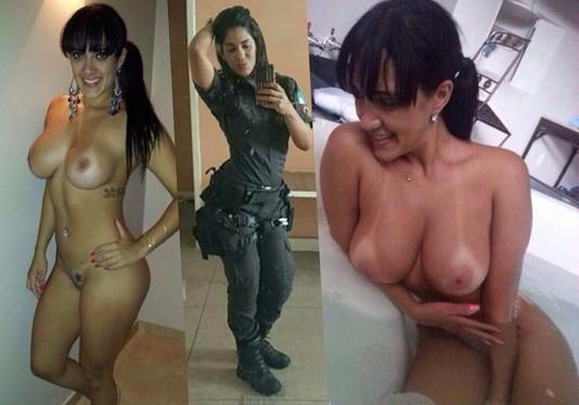 Policial mineira maita caiu no whatsapp nua - 1 part 4