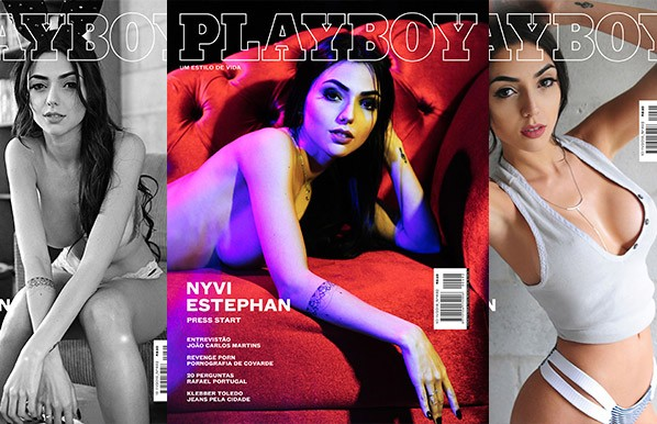 baixar Revista Playboy - Nyvi Estephan - Outubro/Novembro 2016 + Vídeo Making Of HD download