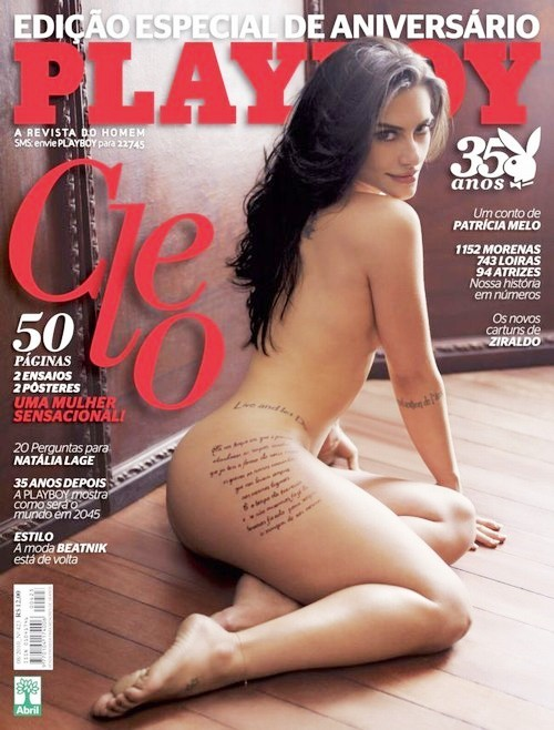 baixar Revista Playboy   Cleo Pires   Especial 35 anos download