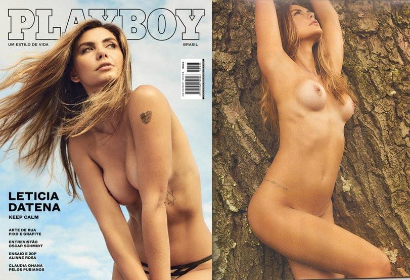 baixar Revista Playboy - Leticia Datena - Abril/Maio 2017 + Making Of download