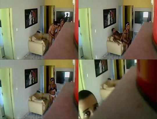 baixar Escondeu a camera e gravou metendo na empregada download