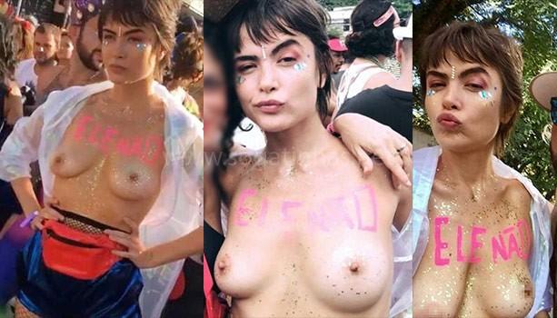 baixar Atriz Maria Casadevall pelada nua mostrando as tetas em bloco de carnaval download