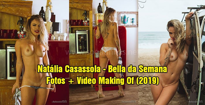 baixar Natália Casassola pelada no Bella da Semana (Fotos + Vídeo Making Of) 2019 download