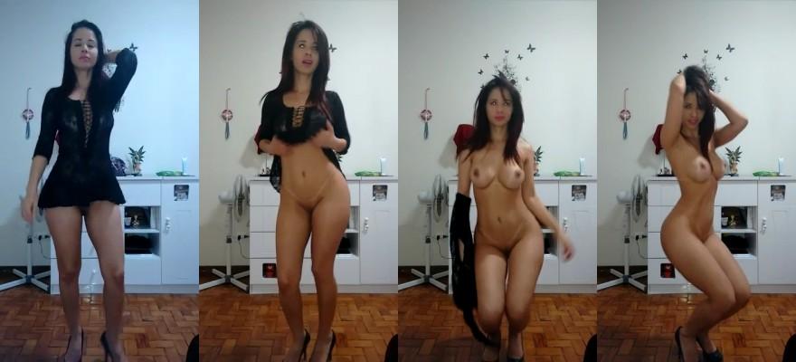 baixar Gostosa perfeita fazendo striptease e ficando peladinha download