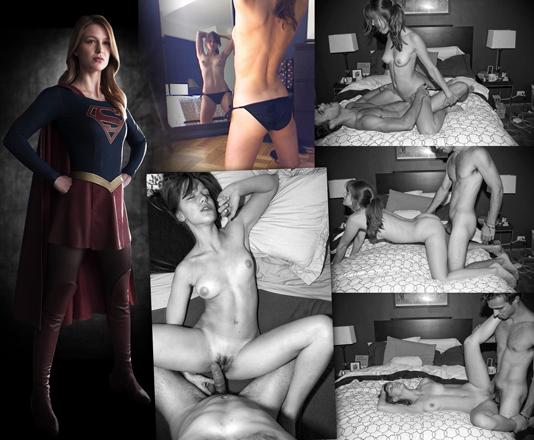 baixar Melissa Benoist, a Supergirl, caiu na net fudendo! download