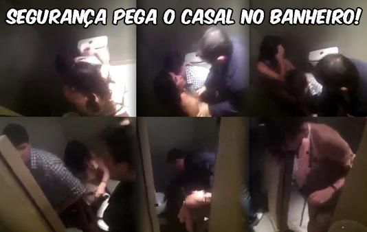baixar Segurança flagra casal fudendo no banheiro da boate download