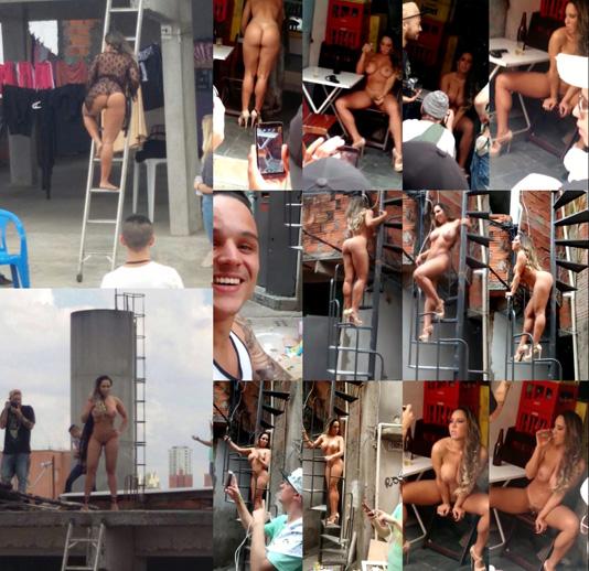 baixar Mulher Melão pelada na laje (fotos e vídeos) download