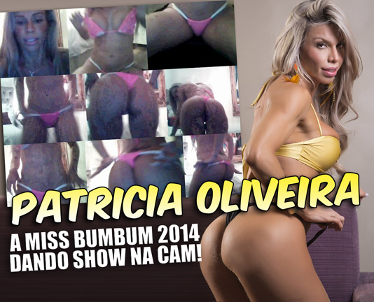 baixar Patricía Oliveira, miss bumbum 2014 peladinha na cam download