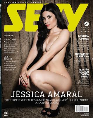 baixar Revista Sexy - Jessica Amaral - Janeiro 2016 + Vídeo Making Of e Ensaios Secundários download