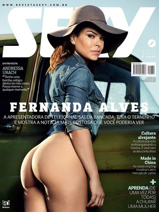 baixar Revista Sexy   Fernanda Alves   Outubro 2015 (Revista completa + Making Of) download