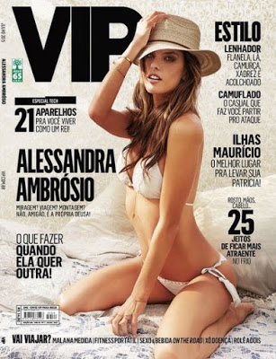 baixar Revista VIP   Alessandra Ambrosio   Junho 2015 download