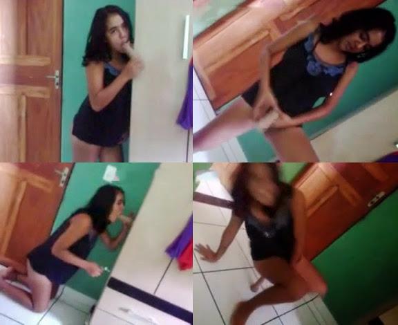 baixar Novinha de Altamira brincando com consolo em casa - Caiu na Net download