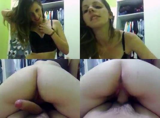 baixar Novinha gostosa sentando a bucetinha deliciosa no pau   Caiu na net download