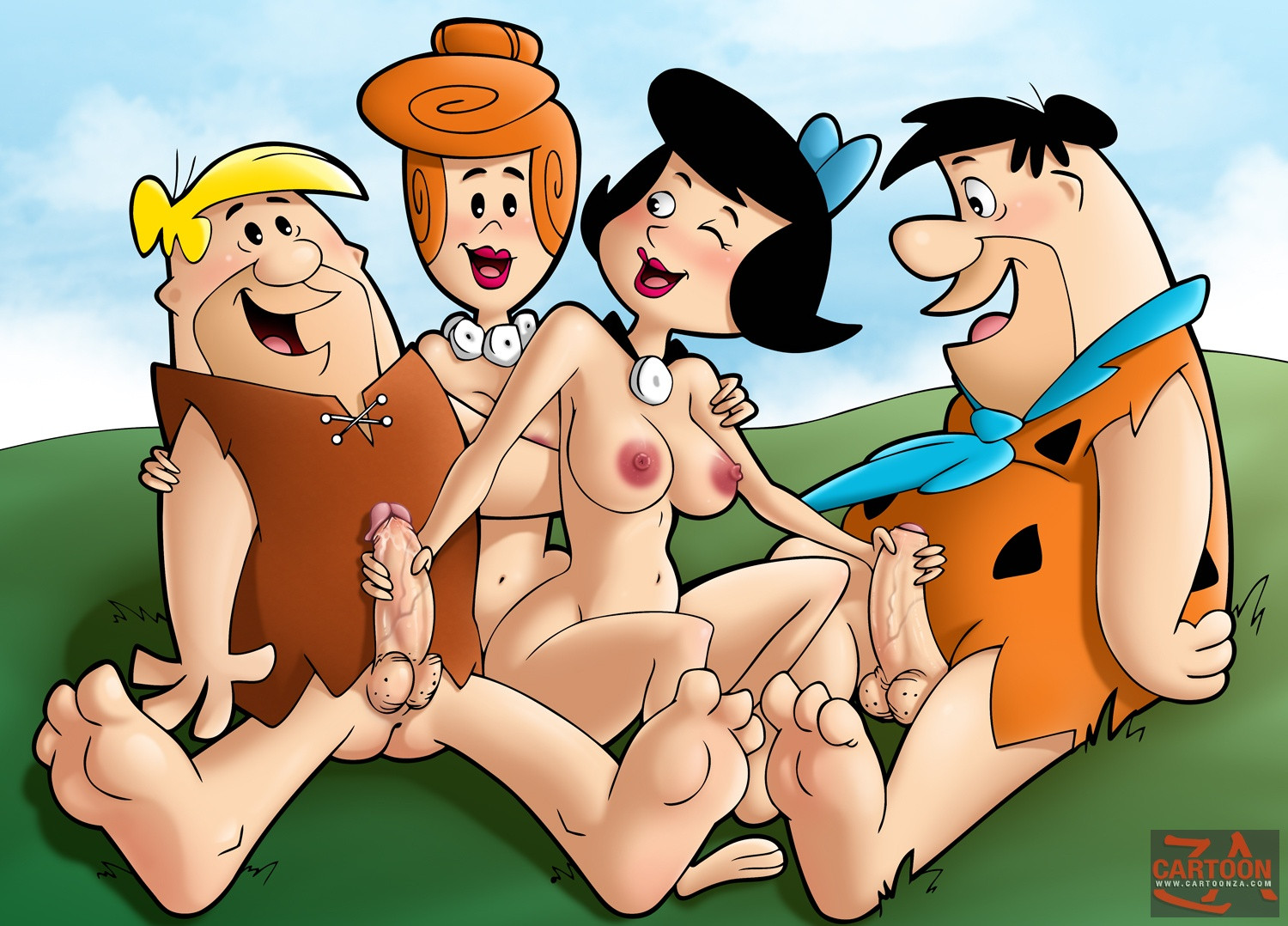 baixar HQ Erótico dos Flintstones   Cartoon Comic download