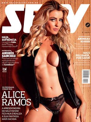 baixar Revista Sexy   Alice Ramos   Junho 2015 download