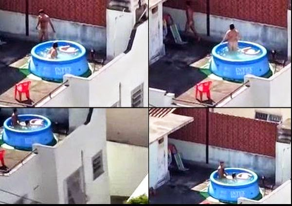baixar Aproveitaram o calor e foram fuder na piscina do terraço download