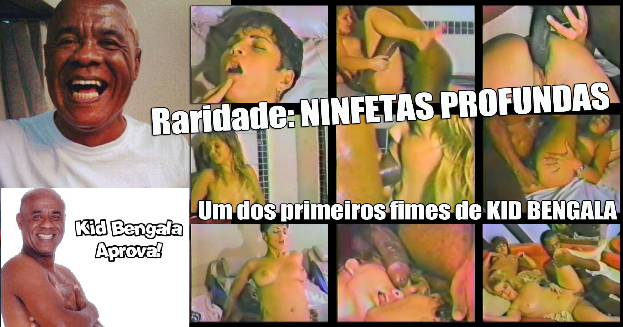 baixar Kid Bengala em Ninfetas Profundas (RARIDADE) - Um dos primeiros filmes de KID BENGALA download