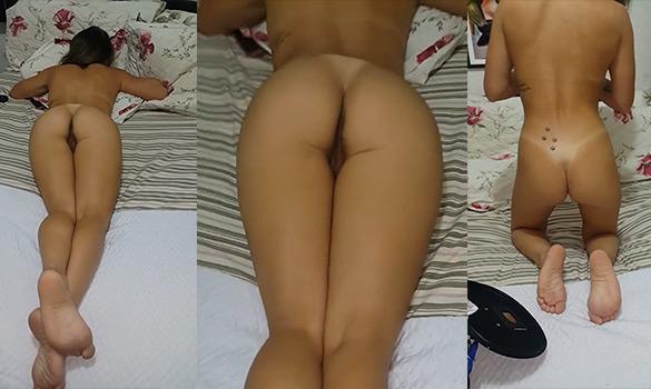 baixar Filmando a namorada gostosa pelada na cama download