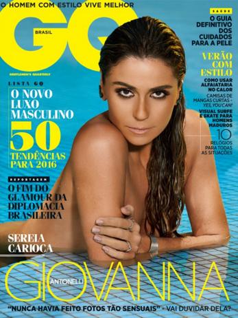 baixar Revista GQ   Edição 58 (01/2016)   Giovanna Antonelli download