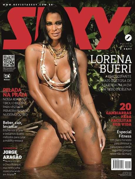 baixar Revista Sexy - Lorena Bueri - Fevereiro 2015 download